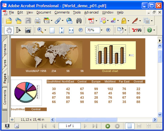 How to convert Excel sheets ( xls file) to multiple PDF